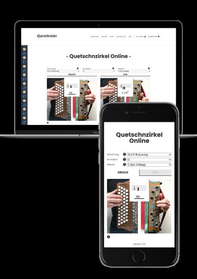 Quetschnzirkel Online Tool